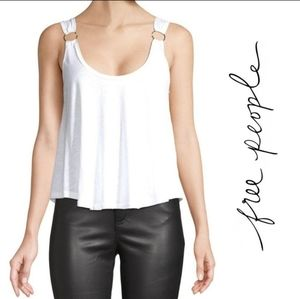 Free People Carly O-Ring Scoop Back Tank Top